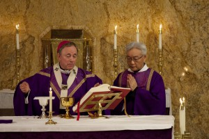 Deacon Andrew Kung (right)